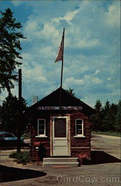 World's Smallest Post Office Lake George Minnesota