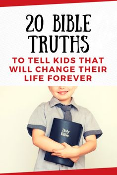 Here are 20 Bible truths that you can give to parents to speak into their children's lives and that you can plant in kids' lives at church. When a child grabs hold of a truth from God's Word and internalizes it, it has the power to alter the trajectory of Bible Study For Kids, Bible Lessons For Kids, Kids Bible, Truth For Kids, Bible Object Lessons, Bible Activities, Church Activities, Bible Truth, Truth Quotes