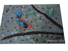 Mosaic bird  Pajaro en mosaico