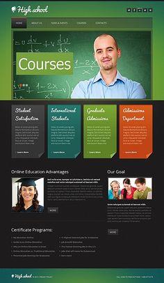 Education Moto CMS Template #html #website http://www.templatemonster.com/moto-cms-html-templates/42710.html?utm_source=pinterest&utm_medium=timeline&utm_campaign=edu