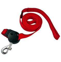 Pulleze NoPull Dog Harness  Leash Red * More info could be found at the image url.