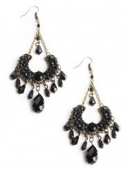 Moving Into the Night Earrings  $16.00