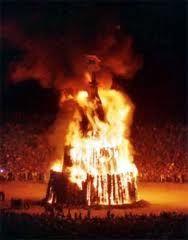 Texas  Aggie Bonfire