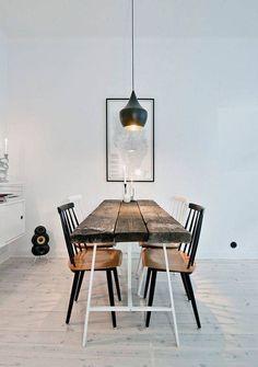 Modern, rustic eating : Tische von 99chairs