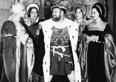 Henry VIII and his four wives