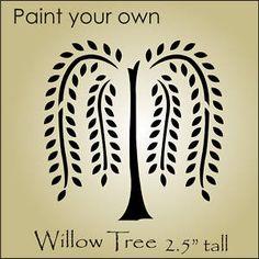 Free Primitive Stencil Designs | Stencil Topper Willow Tree Primitive Design Sign Blocks | eBay