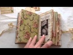 Vintage lady junk journal - YouTube