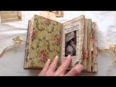 Vintage lady junk journal - YouTube