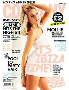 Mollie King for Company Magazine UК, August 2011