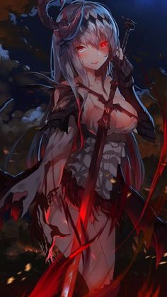 Dark Jeanne d'Arc Granblue Fantasy