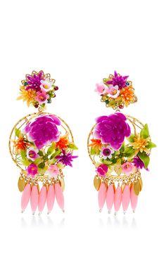 Fiesta Flower Earrin