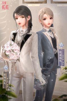 ✨✨Shining Nikki :: Official✨✨Suit :: Rainbow Fantasy Dream Date :: May Type :: Children Day 2020 ; Anime Angel Girl, Anime Art Girl, Queen Anime, Anime Princess, Create Your Own Adventure, Anime Wedding, Nikki Love, Anime Art Fantasy, Chica Anime Manga