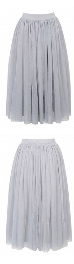 Pop grey layer tutu skirt - mix of sports and style is trendy in 2016! Shades of grey