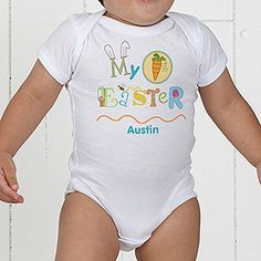 386e2598c Personalized Easter Baby Clothes - My First Easter - 11314 Personalized  Baby Clothes, Baby Kids
