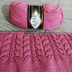 2019 Neu Modell This Pin was discovered by Nur Lace Knitting Patterns, Knitting Stiches, Knitting Blogs, Easy Knitting, Knitting Designs, Knitting Socks, Diy Crafts Knitting, Knitting Projects, Knit Baby Sweaters