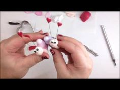 Fimo tutorial #2 - LOVE IS IN THE AIR!