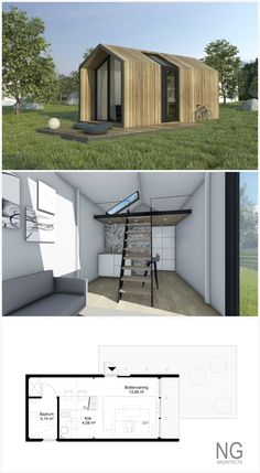 Corona   25 M Small House (attafallshus) Designed By NG Architects For  Compact Living