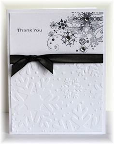Scrappin' and Stampin' in GJ  Christmas Thank You