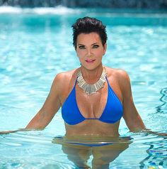 Kris Jenner, 57, shared a photo of herself in a bikini just days after Kendall Jenner posed for swimwear line Agua Bendita