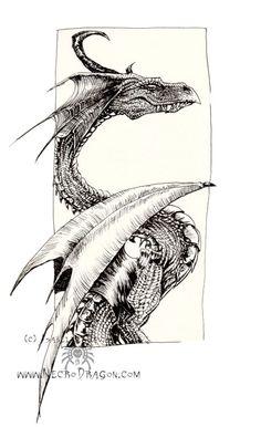 another dragon by drakhenliche on DeviantArt