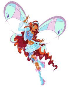 Layla Enchantix - The Winx Club Fan Art