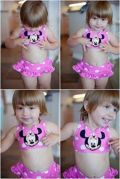 lovin' Minnie #cute #kids #photography #disney