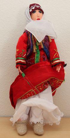 Handmade 18 Turkish Doll in Traditional Ottoman by FolkItems, $99.95 #turkish #turkey #travel #folk #ethnic #doll