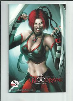 BLOODRAYNE SEEDS OF SIN #1 Graham Crackers Comics VARIANT by Jeremy Roberts! NM http://r.ebay.com/qGj0Dy
