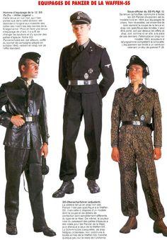 """Résultat de recherche d'images pour """"tenue des panzer ss"""""""
