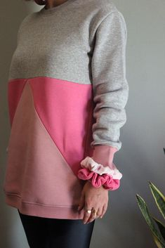 Greek Fashion, Look After Yourself, One Color, Fashion Brands, Hot Pink, Cuffs, Neckline, Drop, Pullover