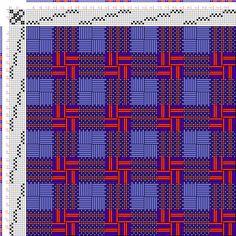 draft image: Figurierte Muster Pl. XLVII Nr. 3 (b), Die färbige Gewebemusterung, Franz Donat, 8S, 8T