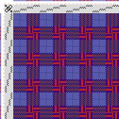 draft image: Figurierte Muster Pl. XLVII Nr. 3 (b), Die färbige Gewebemusterung…
