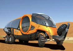 This vehicle is the OEX-B, the Overland Expedition type B