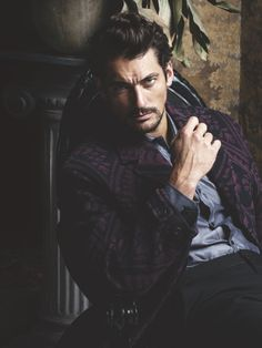 'The Timeless Man' David Gandy covers FHM Collections China A/W 2014 edition; photos by clothing by In the aptly-titled editorial, Jumbo Tsui beautifully captures David Gandy's. David Gandy, Dolce E Gabbana, Perfect Man, Gorgeous Men, Male Models, Supermodels, Sexy Men, Hot Men, Hot Guys
