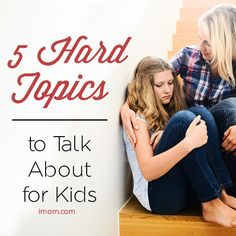 """Have you had """"The Talk"""" yet with your children? #imom #parenting #training"""
