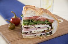 Muffuletta Sandwich | Recipes & Tips | Mezzetta.com | Don't Forgetta Mezzetta