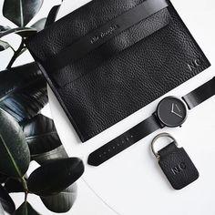 Black On Black - Leather essentials via @nrahmichelle #blackonblackonblack ♠️
