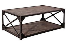One Kings Lane - Living Room Essentials - Abbott Coffee Table