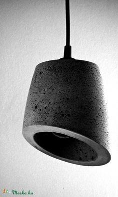 Meska - Design betonlámpa ajándékkal ! dimethm kézművestől