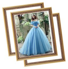 """""""Cinderella dress"""" by dresses-of-findress ❤ liked on Polyvore featuring 991052"""