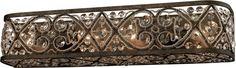 Amherst 4 Light Vanity In Antique Bronze