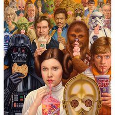 Alex Gross. Star Wars