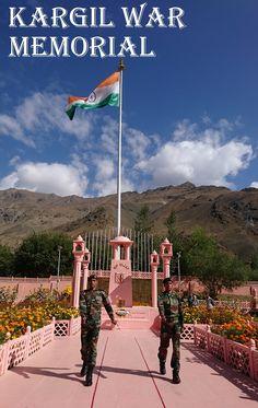 Kargil War Memorial, Ladakh, India #india #incredibleindia #kargil #kargilwarmemorial #drass