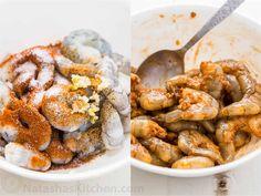 Avocado Cucumber Shrimp Appetizers - NatashasKitchen.com Shrimp Appetizers, Healthy Appetizers, Appetizer Recipes, Shrimp Dishes, Healthy Snacks, Dinner Recipes, Shrimp Salsa Recipe, Avocado Spread, Cucumber Bites