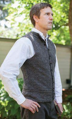 7211e99ce A vest for Charles designed by Kathleen Dames.