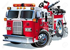 Vector Cartoon Fire Truck Royalty Free Cliparts, Vectors, And Stock Illustration. Image 15501250.
