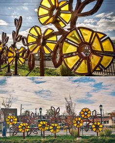 With Art Philadelphia | Art in Transit ft. Nancy Blum - Enliven (2012). #SEPTA Routes: Cheltenham & Ogontz Bus Loop (Photo by: Gary G. Schempp)