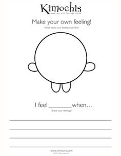 Kimochis_Feeling_Worksheet.jpg (247×320)