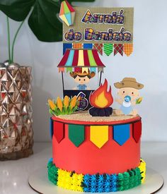 Birthday Cake, Instagram, Fireman Party, Birthday Cakes, Cake Birthday