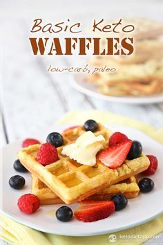 Basic Keto Waffles—really looking forward to trying these. Will report back!